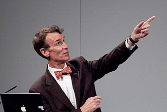 Bill Nye - Nye orating in October 2010