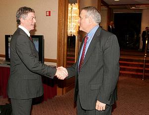 Bill Ritter handshake