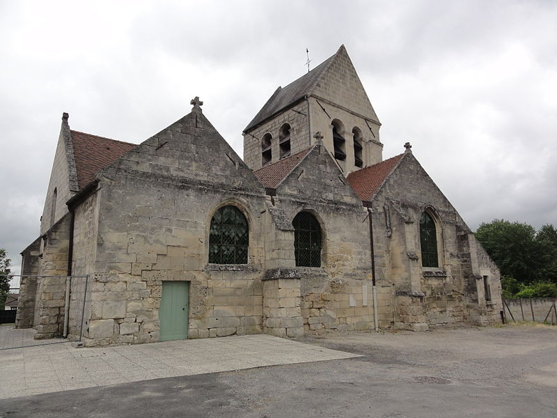Billy-sur-Aisne (Aisne) église Saint-Léger