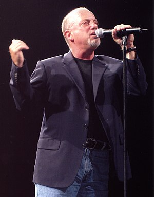 1970s in music - Billy Joel performing in Perth Western Australia in 2006