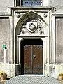 Bilsko kostel Spasitele portal.JPG