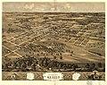 Bird's eye view of the city of Mexico, Audrian Co., Missouri 1869. LOC 73693484.jpg