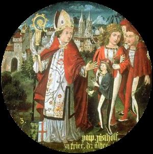 Poppo (archbishop of Trier) - Image: Bischof Poppo von Trier