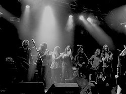 The Black Crowes nach einem Auftritt in Kansas City, September 2006
