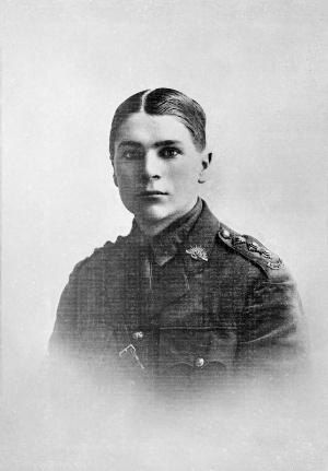 32nd Battalion (Australia) - Captain Blair Wark c. 1916, who received the Victoria Cross for his leadership and bravery while leading the battalion in late 1918