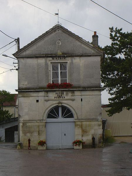 The townshall of Blaise (Haute-Marne, Champagne-Ardennes, France).