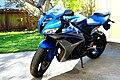 Blue 2007 Honda CBR600RR left front.jpg