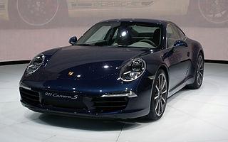 Seventh generation of the Porsche 911