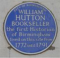 Blue plaque William Hutton.jpg
