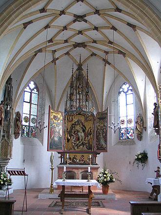 Blutenburg Castle - Palace Chapel interior
