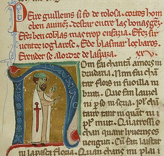 Peire Guillem de Tolosa - Here Peire is portrayed as a knight of Santiago