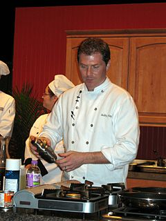 Bobby Flay American celebrity chef, restaurateur and reality television personality