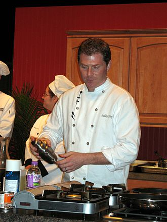 Bobby Flay - 2007 cooking demonstration in Green Bay, Wisconsin