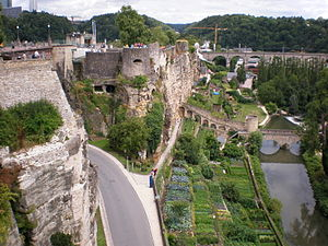 Fortress of Luxembourg -  The Bock