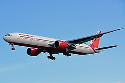 Boeing 777-300ER der Air India