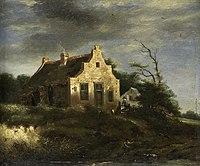 Boerenhuis in bosachtig duinlandschap Rijksmuseum SK-A-3498.jpeg