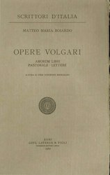 Matteo Maria Boiardo: Opere volgari