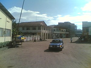 Boma, Democratic Republic of the Congo - View of Boma in 2007