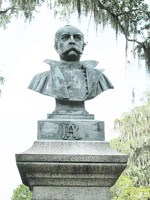 Robert H. Anderson - Bust of General Anderson, by Alexander Dole