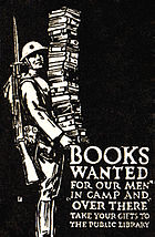 Books Wanted logo from Harper's Magazine December 1918 issue