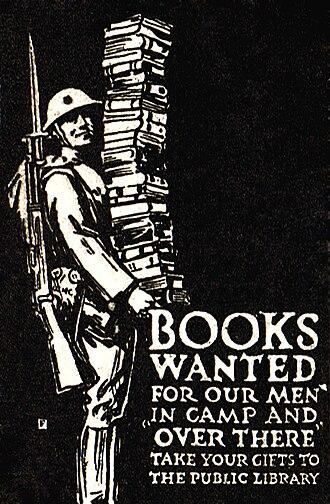 1918 in literature - U.S. poster