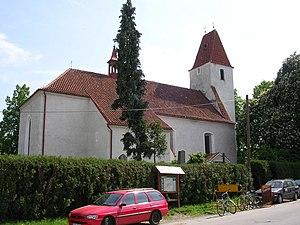 Boršov nad Vltavou - Image: Boršov nad Vltavou, kostel svatého Jakuba Většího