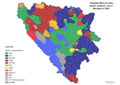 Bosnia and Herzegovina, municipal elections, 2004-lat.png