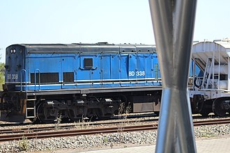 Botswana Railways - Image: Botswana Rail Express train 2