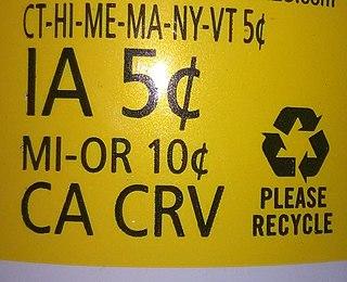 Container deposit legislation in the United States Overview about the container deposit legislation in the United States