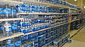 Bottled water in supermarket.JPG