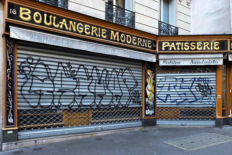 file boulangerie 16 rue des foss s saint jacques paris wikimedia commons. Black Bedroom Furniture Sets. Home Design Ideas