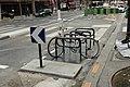Boulevard Saint-Martin (Paris), arceaux à vélo 03.jpg
