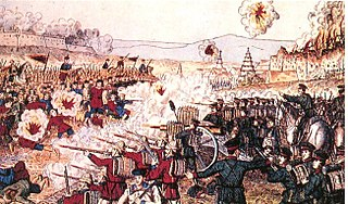 battle in China in 1900
