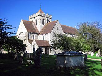 Boxgrove - Image: Boxgrove priory