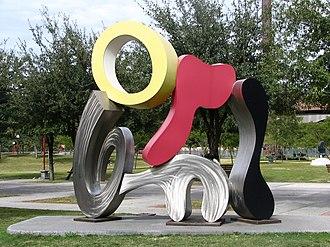 """Brad Howe - """"Atlas Melody"""" in Fundidora Park in Monterrey, Mexico."""