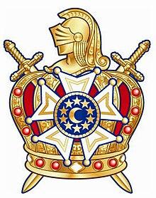 daa9d8b536f Emblema atual da Ordem DeMolay