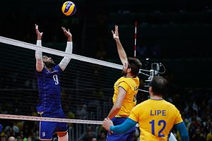 France men's national volleyball team - 2016 Summer Olympics, Brazil v France