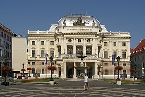 Slovak National Theater - The old Slovak National Theater building