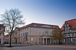 Springer Vieweg Verlag - The former Vieweg publishing house in Braunschweig, today the Braunschweigisches Landesmuseum.