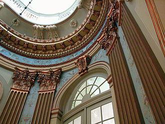 Schloss Richmond - Image: Braunschweig Schloss Richmond Wandverzierungen (2011)