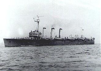 Brazilian cruiser Bahia - Image: Brazilian cruiser Bahia 4