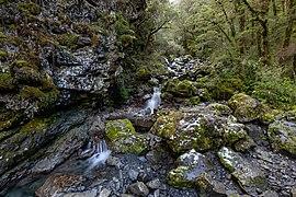 Bridal Veil Creek, Arthur's Pass National Park, New Zealand 02.jpg