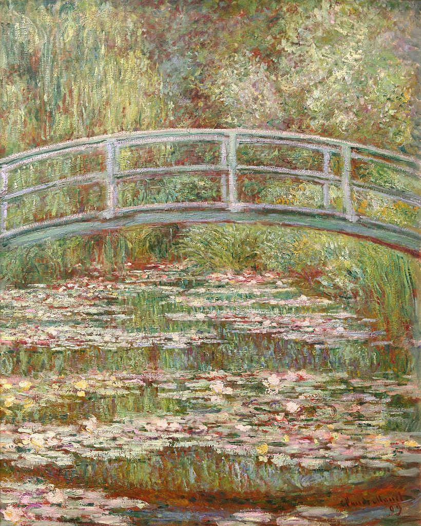 Monet: File:Bridge Over A Pond Of Water Lilies, Claude Monet 1899