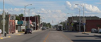 Bridgeport, Nebraska - Main Street
