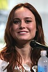 Photo of Brie Larson at the 2013 San Diego Comic-Con