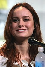 Photo of Brie Larson at the 2013 San Diego Comic-Con.