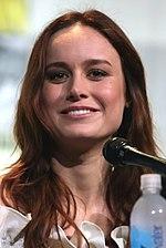 Foto van Brie Larson op de San Diego Comic-Con 2013.