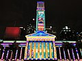 Brisbane City Hall light projection show 2017, 04.jpg