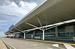 Brisbane International Terminal level 4 Departure vehicles ramp.jpg