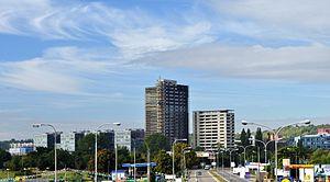 Brno - SOC (výstavba výškových budov)